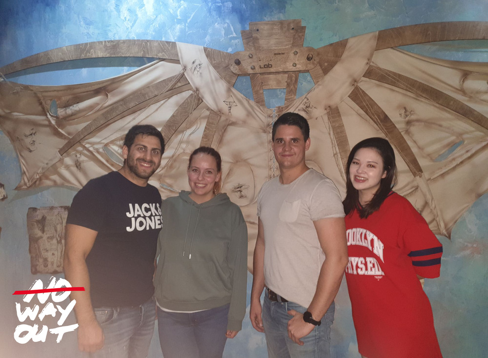 Escape room Da Vinci, 22 Oct 2019 19:15 - Photo Galerie - NoWayOut Escape Rooms Wien