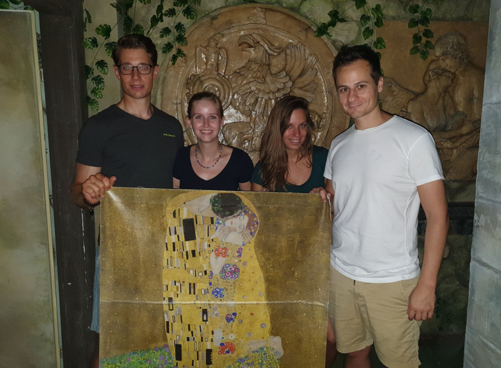 Escape room Mission Belvedere, 01 Sep 16:30 - Photo Galerie - NoWayOut Escape Rooms Wien
