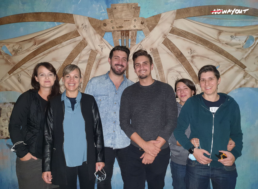 Escape room Da Vinci, 02 Oct 2020 19:00 - Photo Galerie - NoWayOut Escape Rooms Wien