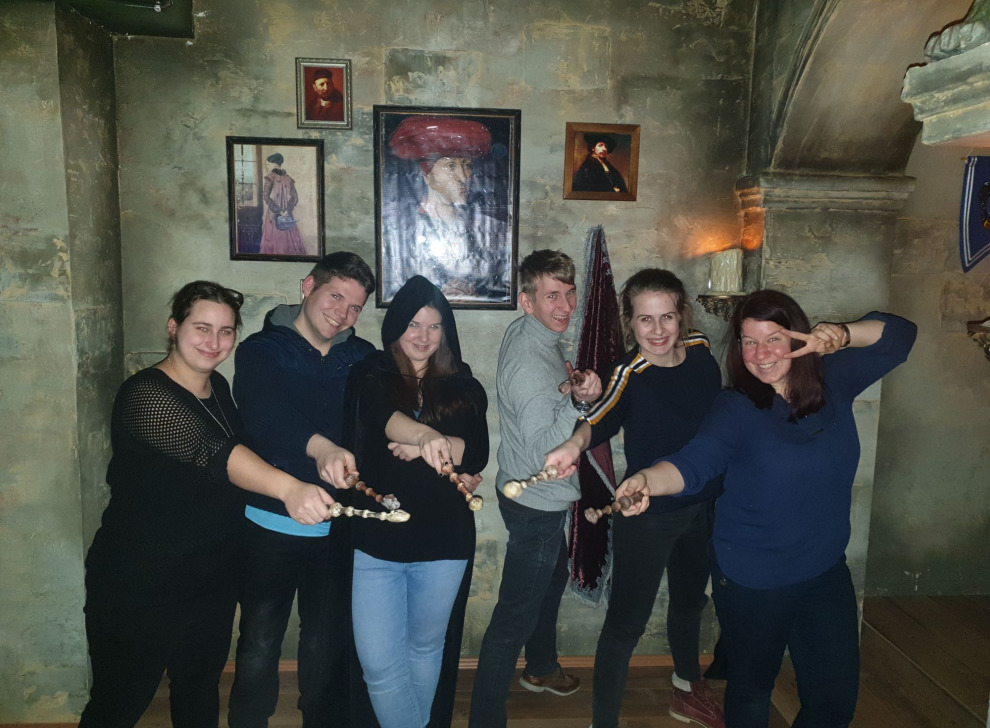 Escape room School of Magic, 29 Dec 20:30 -  Photo Gallery | NoWayOut Escape Rooms Vienna