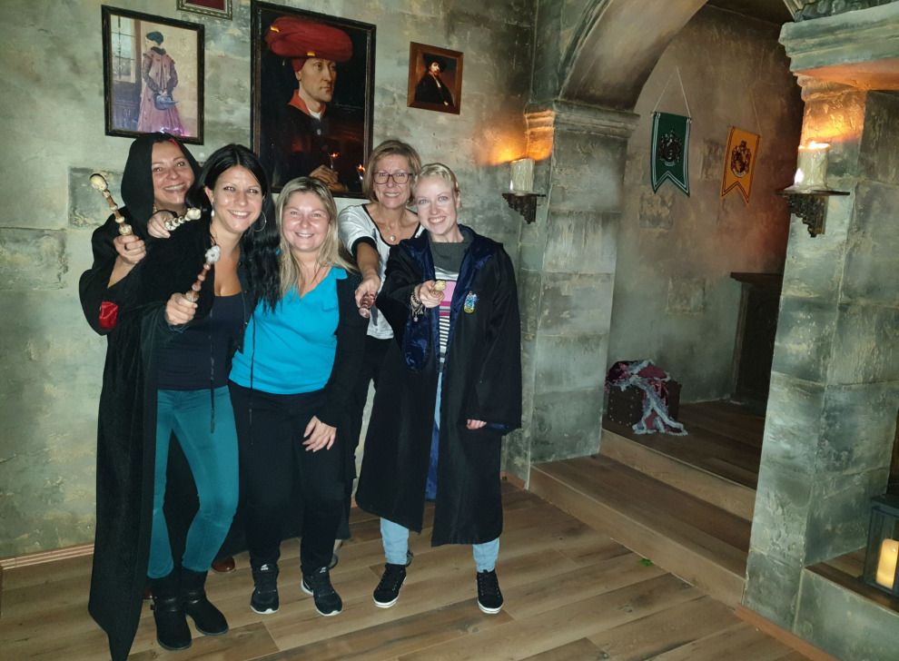 Escape room School of Magic, 09 Oct 17:30 -  Photo Gallery | NoWayOut Escape Rooms Vienna