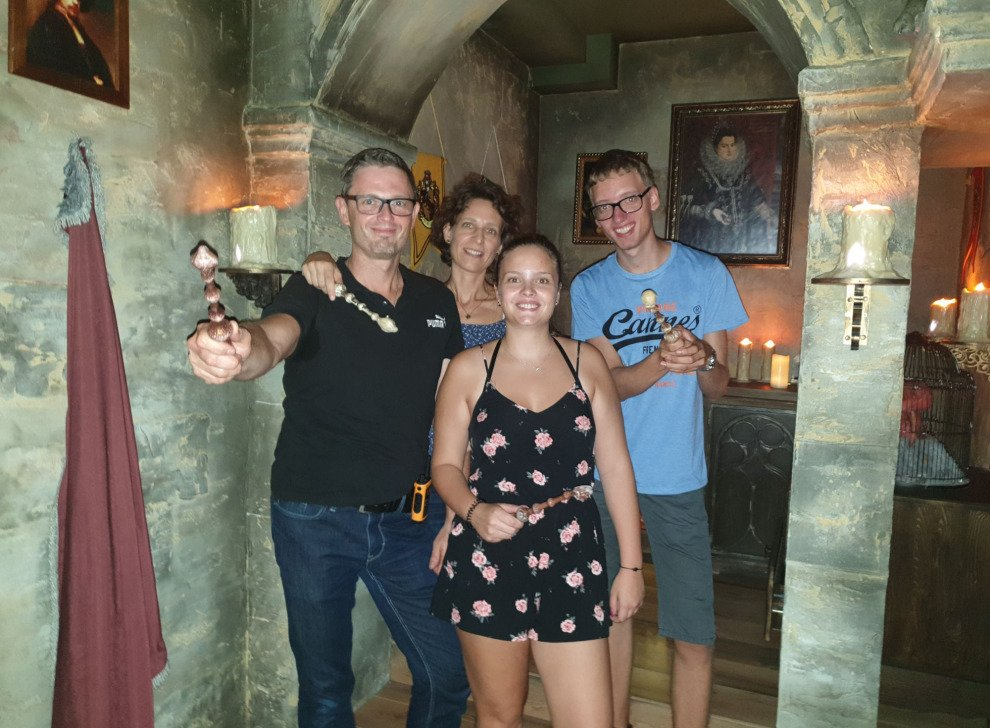 Escape room School of Magic, 01 Sep 14:30 -  Photo Gallery | NoWayOut Escape Rooms Vienna