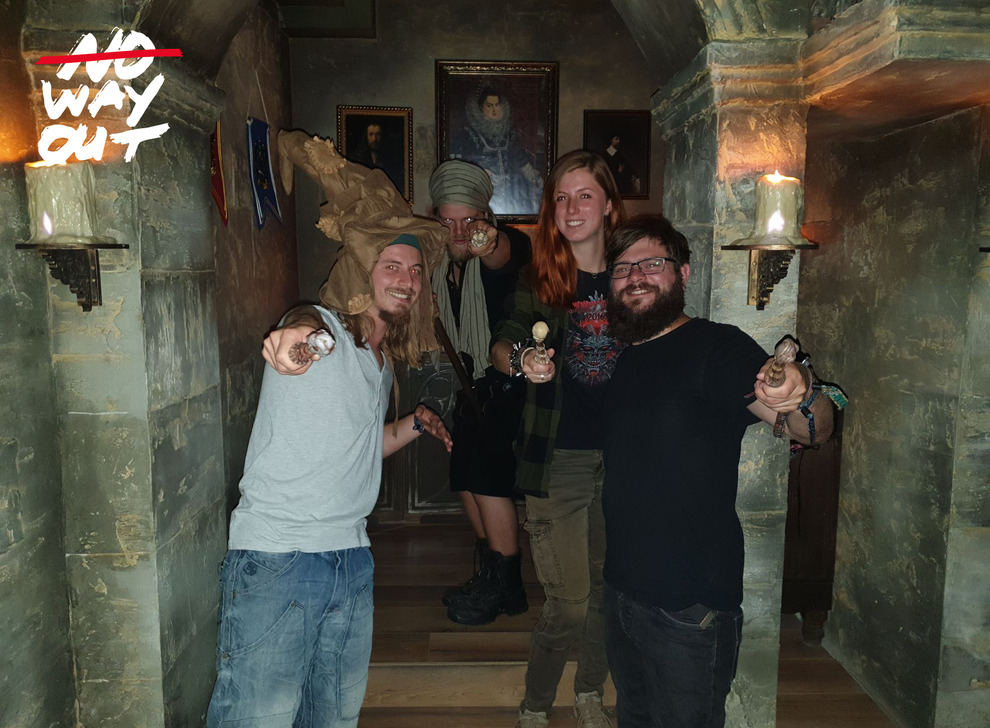 Escape room School of Magic, 23 Aug 13:00 -  Photo Gallery | NoWayOut Escape Rooms Vienna