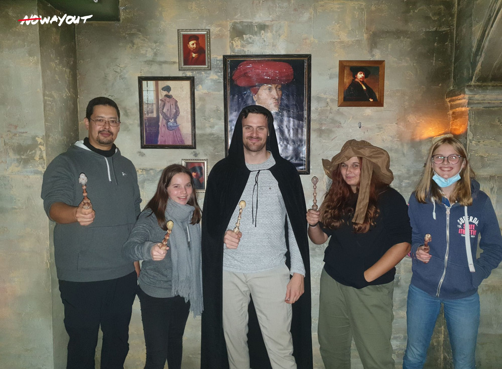Escape room School of Magic, 14 Oct 19:00 -  Photo Gallery | NoWayOut Escape Rooms Vienna