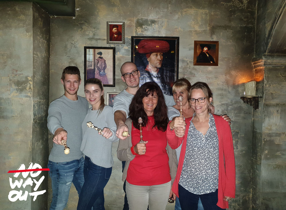 Escape room School of Magic, 11 Oct 19:00 -  Photo Gallery | NoWayOut Escape Rooms Vienna
