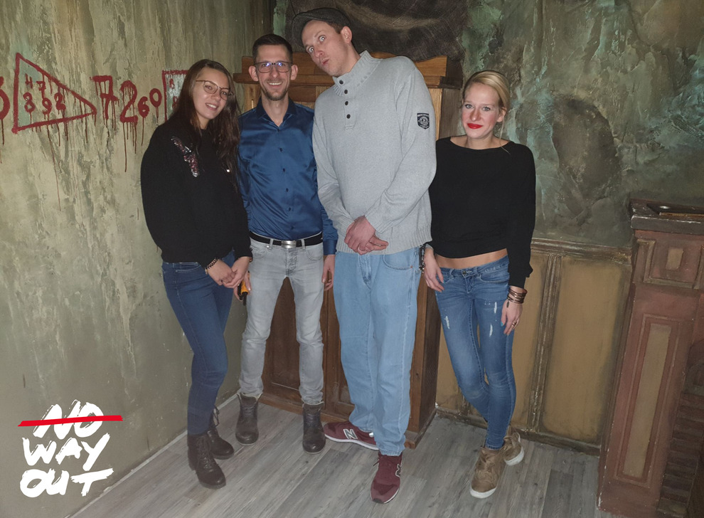 Escape room The Unknown, 01 Jan 16:15 -  Photo Gallery | NoWayOut Escape Rooms Vienna