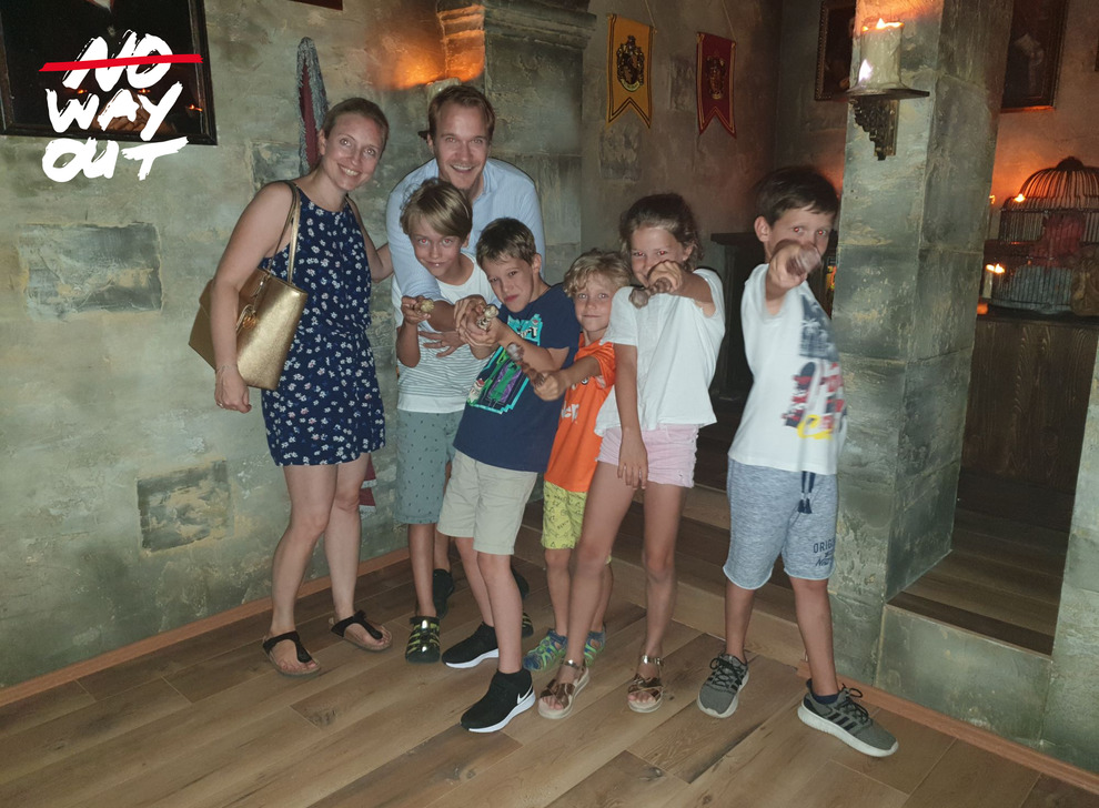 Escape room School of Magic, 31 Aug 2019 16:00 - Photo Galerie - NoWayOut Escape Rooms Wien