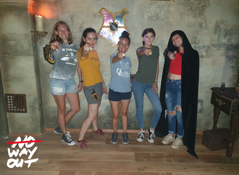 Escape room School of Magic, 19 Aug 14:30 -  Photo Gallery | NoWayOut Escape Rooms Vienna