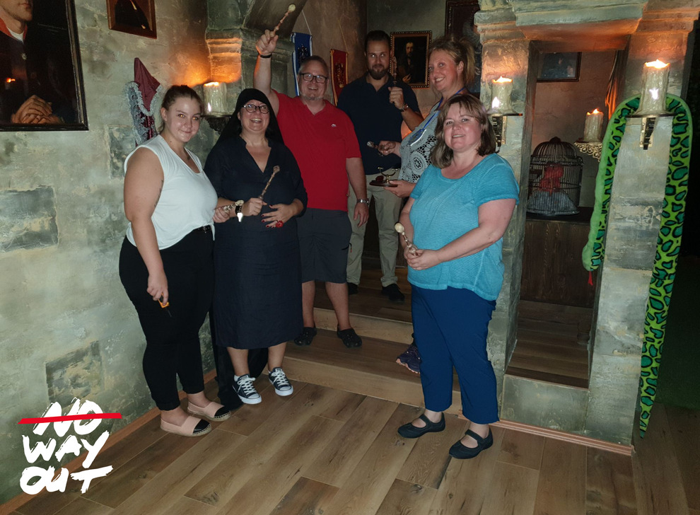Escape room School of Magic, 18 Aug 16:00 -  Photo Gallery | NoWayOut Escape Rooms Vienna