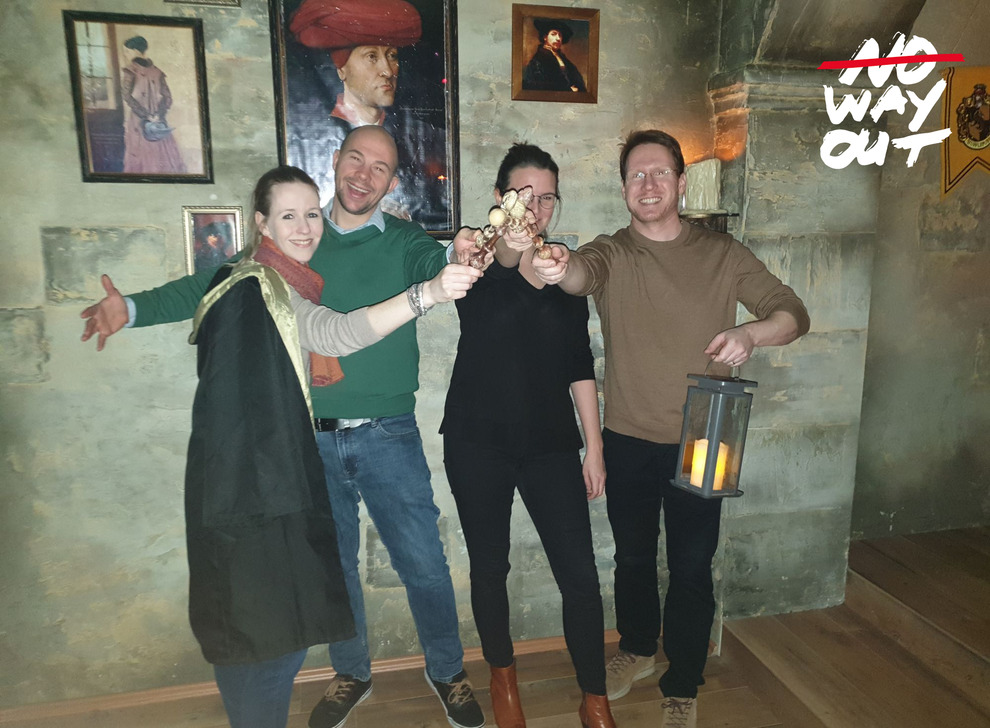 Escape room School of Magic, 11 Jan 17:30 -  Photo Gallery | NoWayOut Escape Rooms Vienna